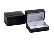 Box na manžetové gombíky tmavomodrá