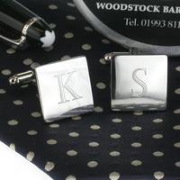 Manžetové gombíky gravírovanie písmen