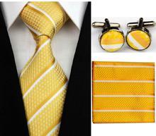 Manžetové knoflíčky s kravatou Iris