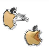 Manžetové gombíky apple zlaté