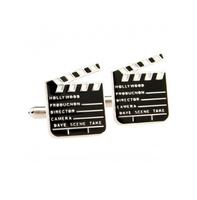 Manžetové gombíky filmová klapka