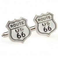 Manžetové gombíky route 66