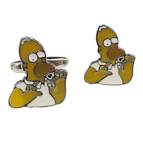 Manžetové gombíky Homer Simpson