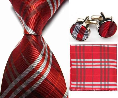 Manžetové gombíky s kravatou Forkys - 1