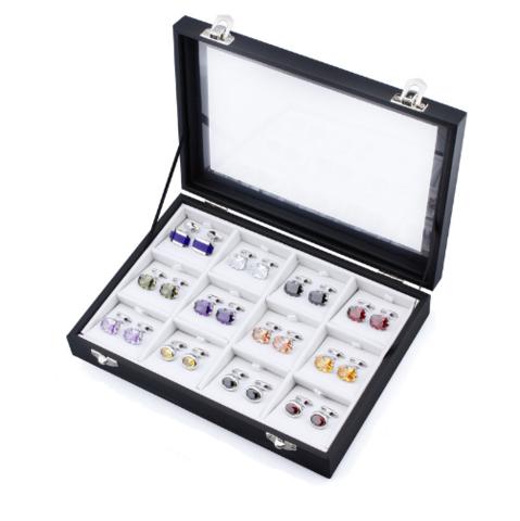 Krabička manžetové gombíky 12 ks - 1