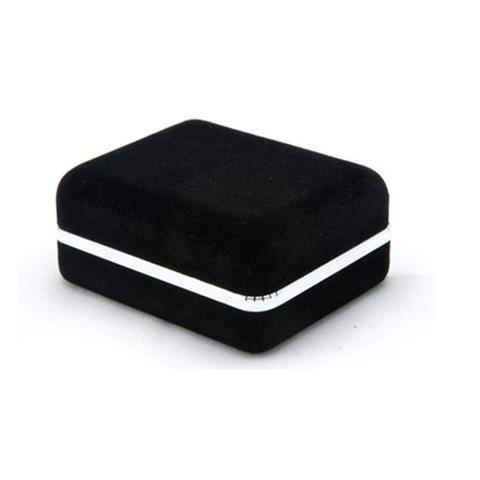 Krabička pre manžetové gombíky - semiš - 1