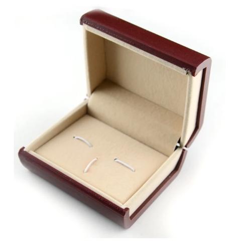 Krabička pre manžetové gombíky červená - 1