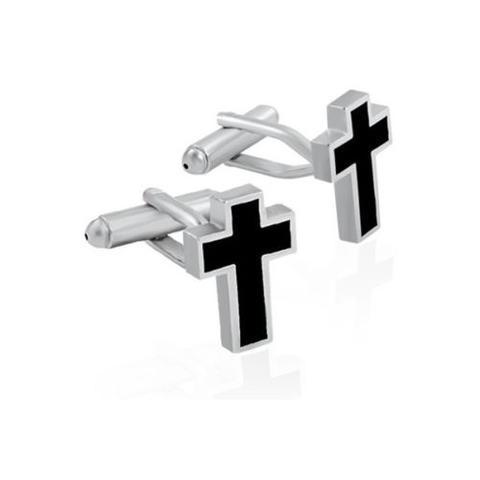 Manžetové gombíky kresťanský kríž - 1