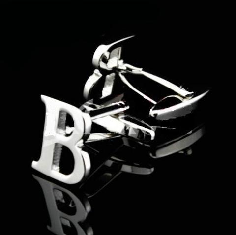 Manžetové gombíky písmeno B