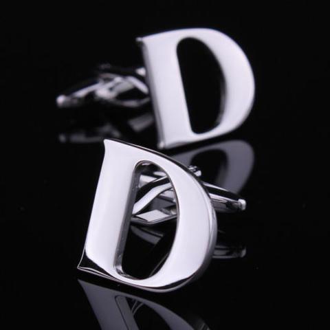 Manžetové gombíky písmeno D