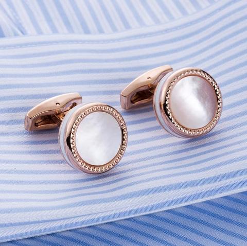 Manžetové gombíky perleť - 1