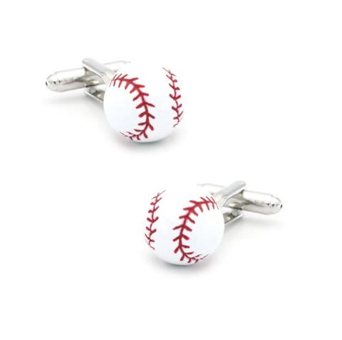 Manžetové gombíky baseball loptičku