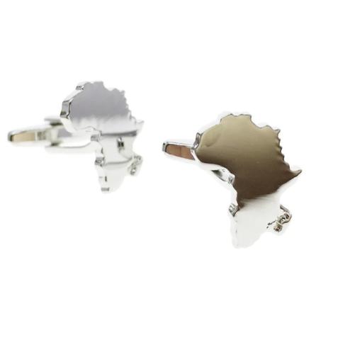 Manžetové gombíky Afrika kontinent