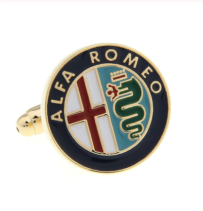 Manžetové gombíky Alfa Romeo - 1