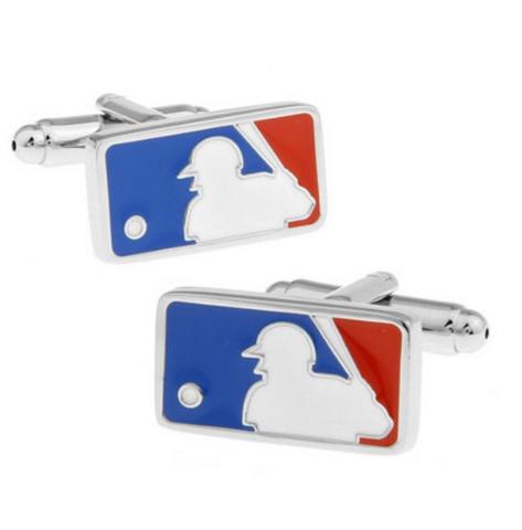 Manžetové gombíky Baseball