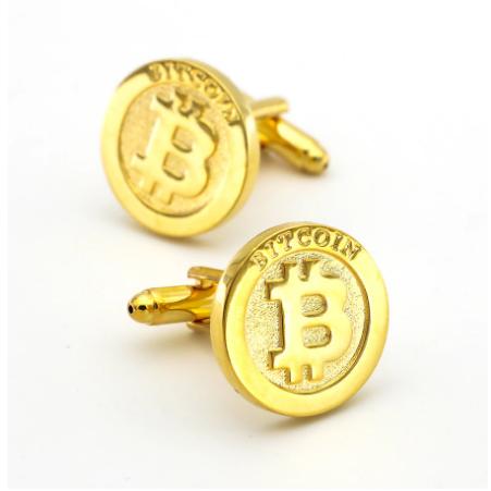 Manžetové gombíky Bitcoin - 1