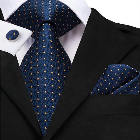 Manžetové gombíky s kravatou Apollon
