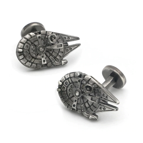 Manžetové gombíky Millennium Falcon Star Wars - 1