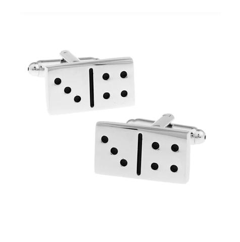 Manžetové gombíky domino