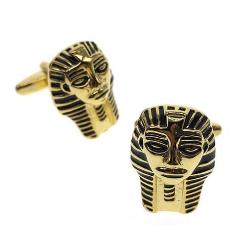 Manžetové gombíky egyptská maska