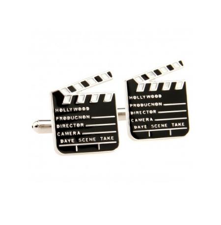 Manžetové gombíky filmová klapka - 1