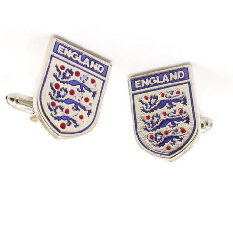Manžetové gombíky futbalový znak Anglicka - 1