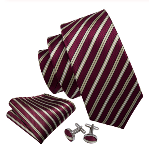 Manžetové knoflíčky s kravatou Peithó - 1