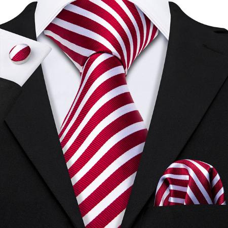 Manžetové gombíky s kravatou Hermés