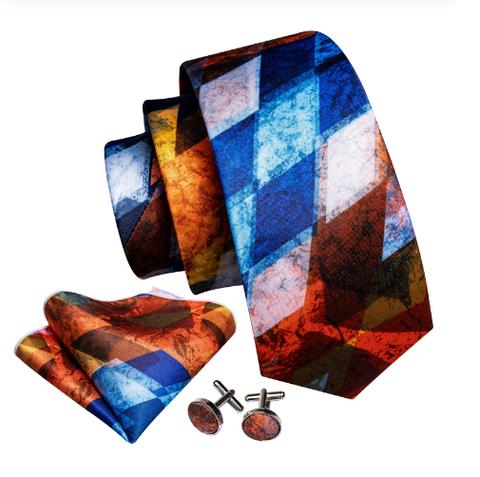 Manžetové knoflíčky s kravatou Plútós - 1