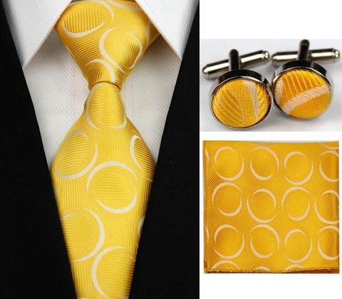 Manžetové knoflíčky s kravatou Nymfy - 1