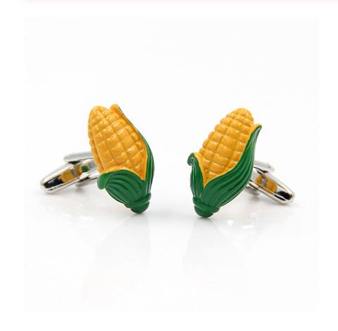 Manžetové gombíky kukurica