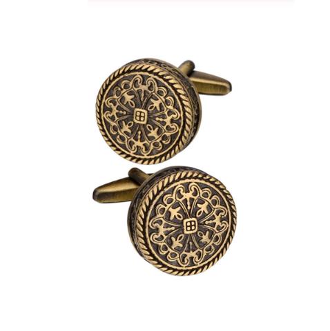Manžetové gombíky bronzový vzor - 1