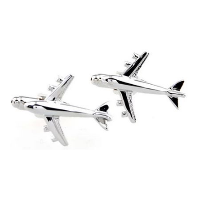 Manžetové gombíky veľké lietadlo - 1