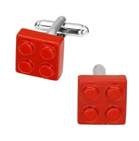 Manžetové gombíky červenej Lego