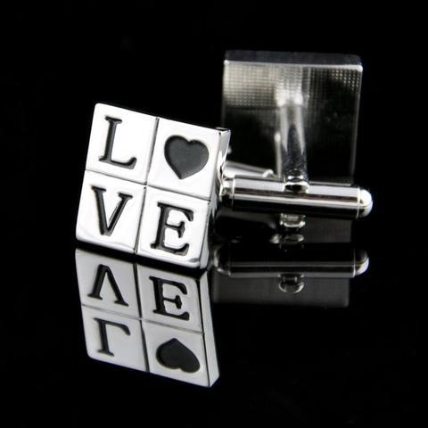 """Manžetové gombíky """"LOVE"""""""