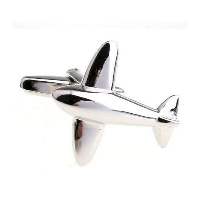 Manžetové gombíky lietadlo - 1