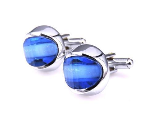 Manžetové gombíky modré oko - 1