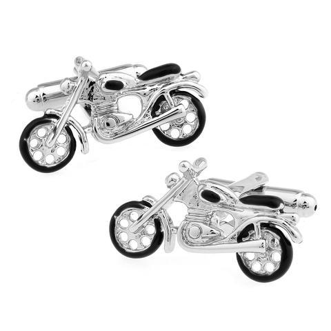 Manžetové gombíky motocykel