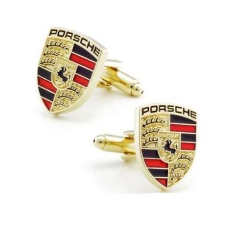 Manžetové gombíky Porsche gold