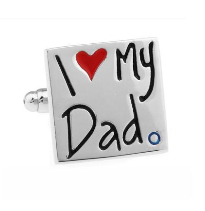 Manžetové gombíky pre otca