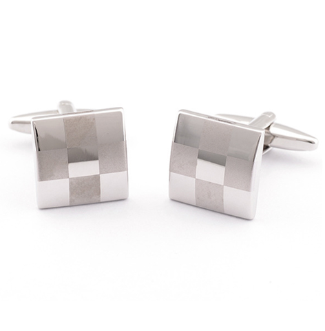 Manžetové gombíky šachovnicová mozaika
