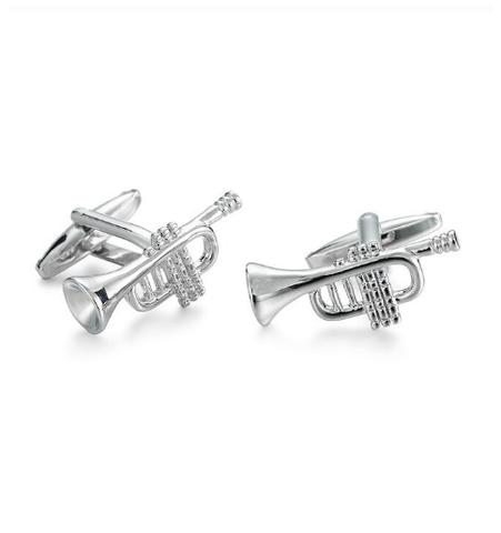 Manžetové gombíky jazzové rúrky - 1