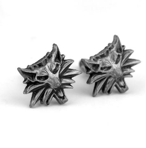 Manžetové gombíky vlk - 1