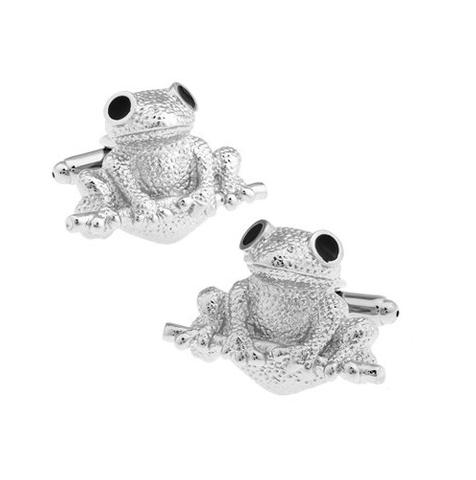 Manžetové gombíky žaba - 1