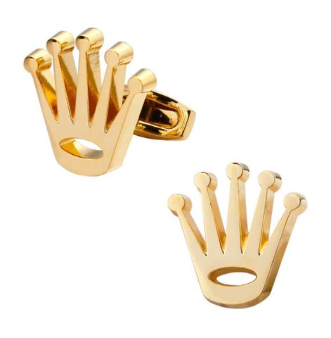 Manžetové gombíky zlatá korunka - 1