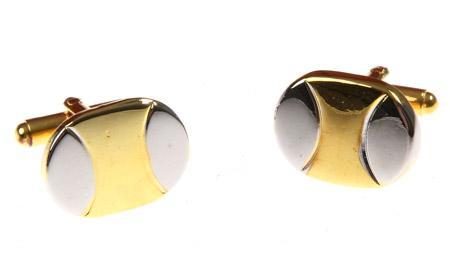 Manžetové gombíky zlatý overal