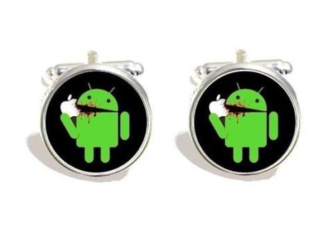 Manžetové gombíky - Apple vs Android