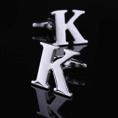 Manžetové gombíky písmeno K