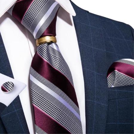 Manžetové gombíky s kravatou Chronós