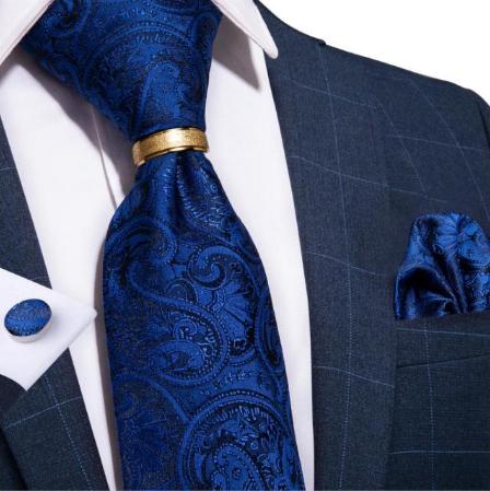 Manžetové knoflíčky s kravatou Thanatos